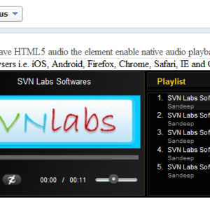 Facebook-HTML5-MP3-Player