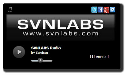 HTML5 MP3 Radio Player