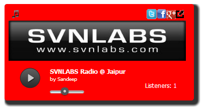 HTML5 Radio Player with live Listeners Count